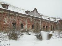 Южные форты. Форт Дзичканец, фасад.