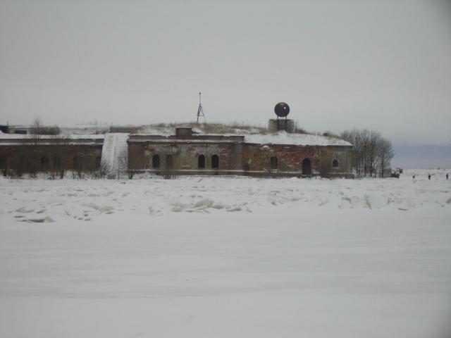 Южные форты. Форт Милютин. Вид с восточной стороны.