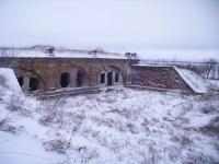 Южные форты. Форт №1. Фасад.