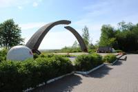 """Ладожское озеро. Монумент """"разорванное кольцо"""""""
