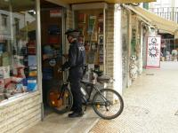 Португалия. Фару. Полицейский на байке! :)