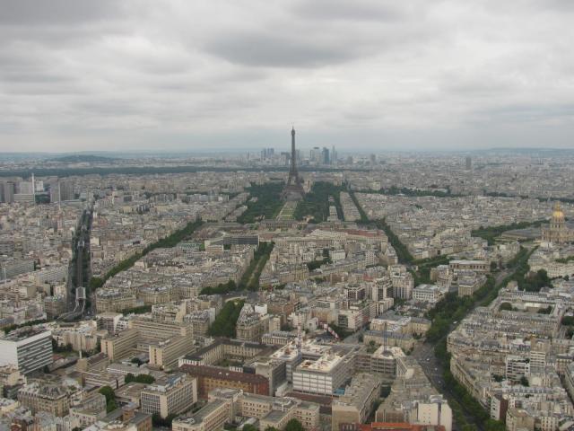 Вид с башня Монпарнас