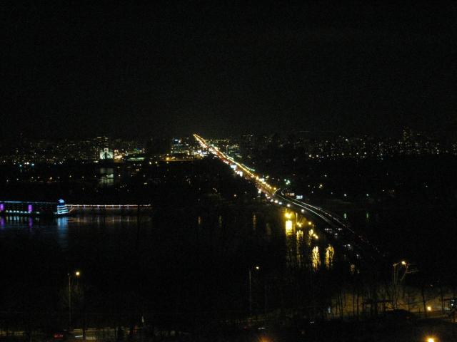 Киев ночной.