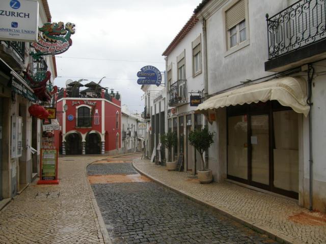 Португалия, Лагуш, центр города.
