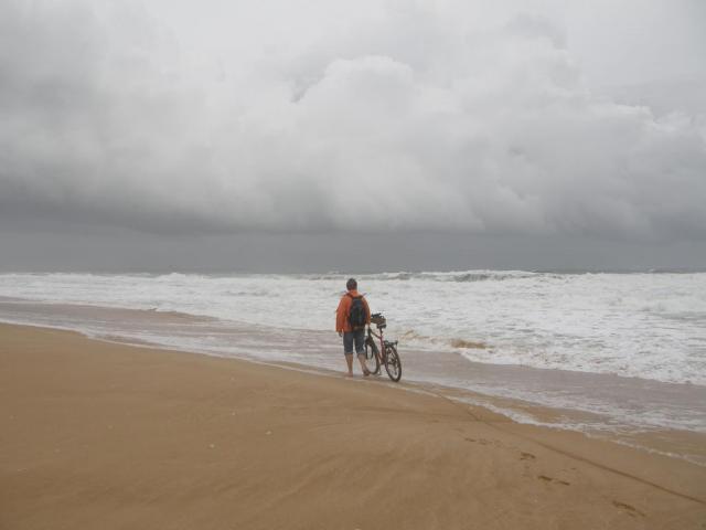 Португалия, Лагуш, берег океана