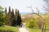Севастополь. Солнечный пляж. Апрель 2010.
