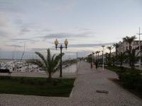 Португалия, Сан Антонио (Vila Real de Santo Antonio) - город на границе с Испанией, набережная.