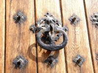Дверная ручка (к двери с предыдущего фото)