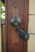 И еще дверная ручка. Наантали, Финляндия.