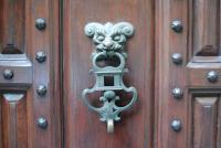 Дверная ручка. Синтра. Португалия.