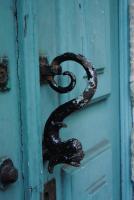 Дверная ручка - морское чудище. Синтра.
