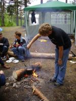 Gentoo Summer Camp 2006, Утренний кофе.