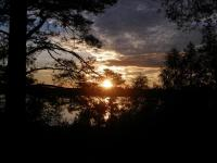 Gentoo Summer Camp 2008. Бологое. Закат над озером Святое