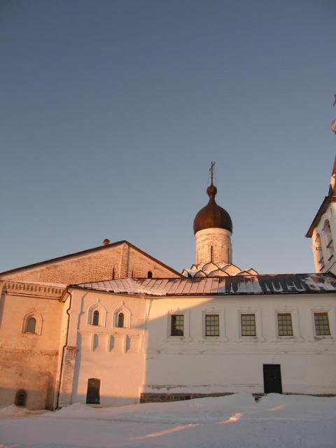 Ферапонтово. Ферапонтов монастырь.