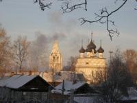 Белозерск. Вид на Церковь Всемилостивого Спаса (1723 г.)