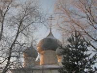 Белозерск. Купола Церкви Успения (1553 г.)