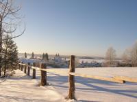 Горицы. Вид с горушки на Горицкий монастырь