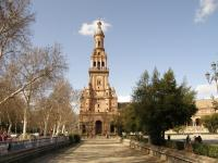 Испания, Севилья. Площадь Испании.