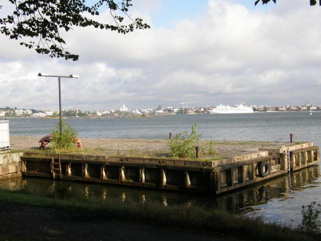 Финляндия, Хельсинки, Свеаборг (Sveaborg). Причал