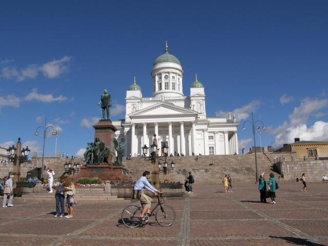 Финляндия. Хельсинки. Кафедральный собор