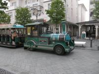 Германия. о.Рюген. Бинц. Экскурсионный автобусо-паровоз.