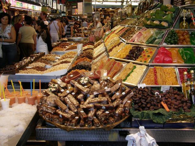Испания. Барселона. Рынок