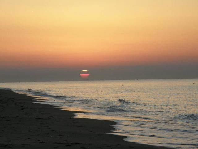 Castelldefels. Восход.