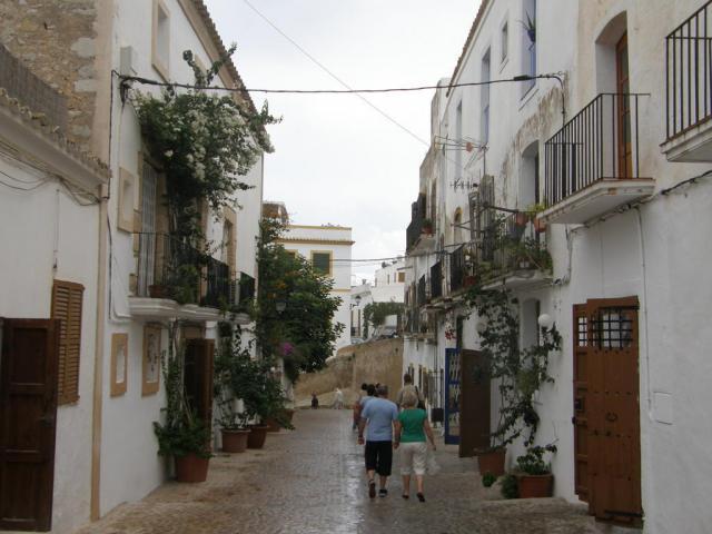 Испания, о.Ибица, г.Ибица. Улочки Ибицы.