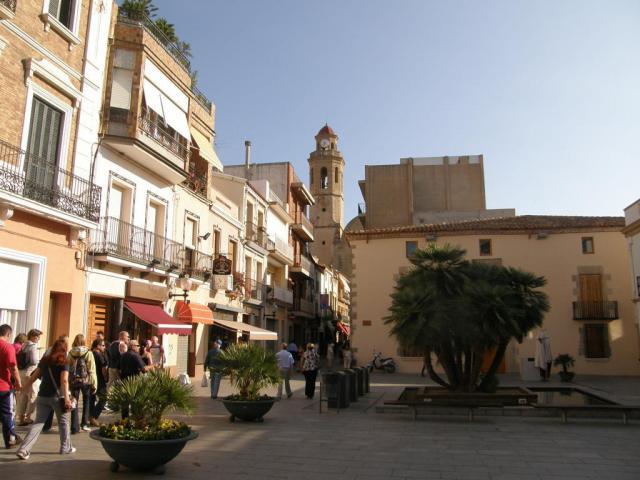 Испания. Calella. В городе.