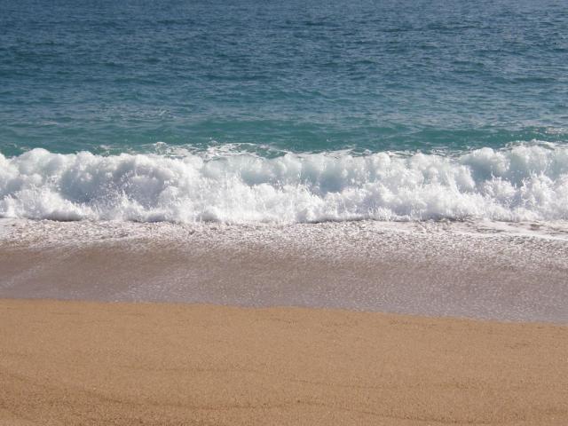 Испания. Calella. пляж, море...
