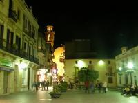 Испания. Calella. Вечерний город.