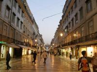 Португалия, Лиссабон. Вечер.