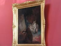 А во дворце Юсуповых в детской висит картина про кошек.:-)
