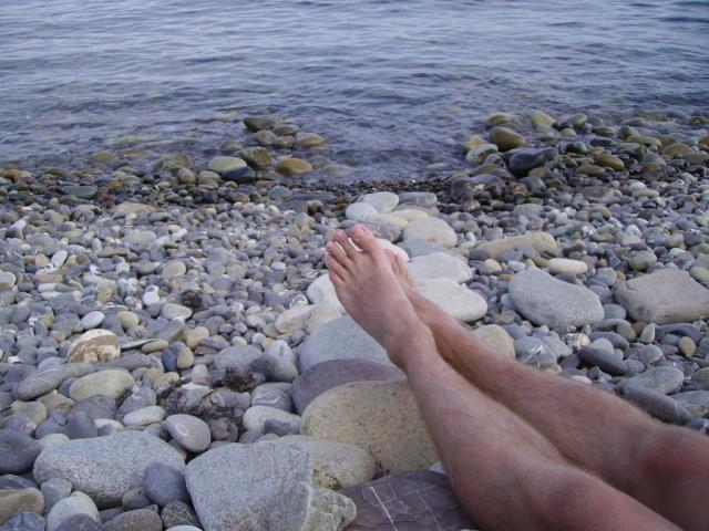 Крым. На море.