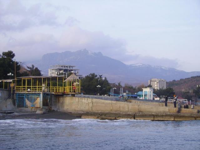 Крым. Алушта. 1 января 2007