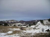 Крым. Ялтинская Яйла зимой.