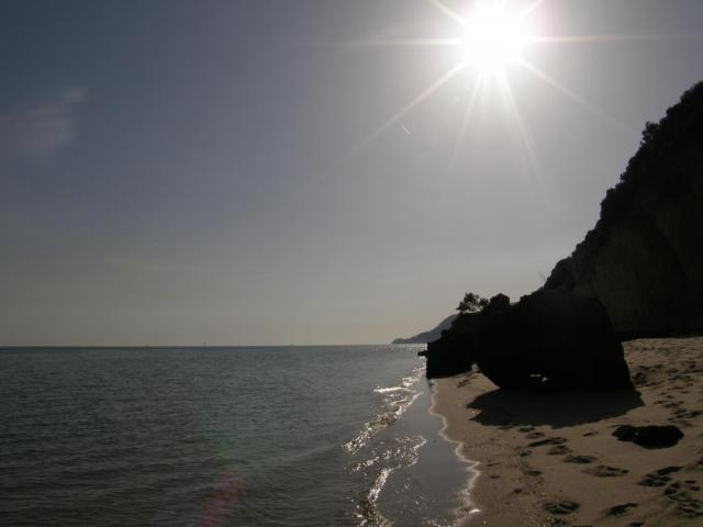Португалия, Сетубал. Пляж.