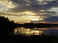 Gentoo Summer Camp 2006. Бологое. Закат над озером Святое.