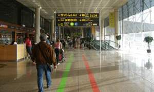 Барселона, аэропорт.