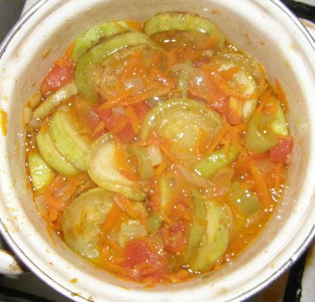 Жареные кабачки с луком и морковью рецепт пошагово